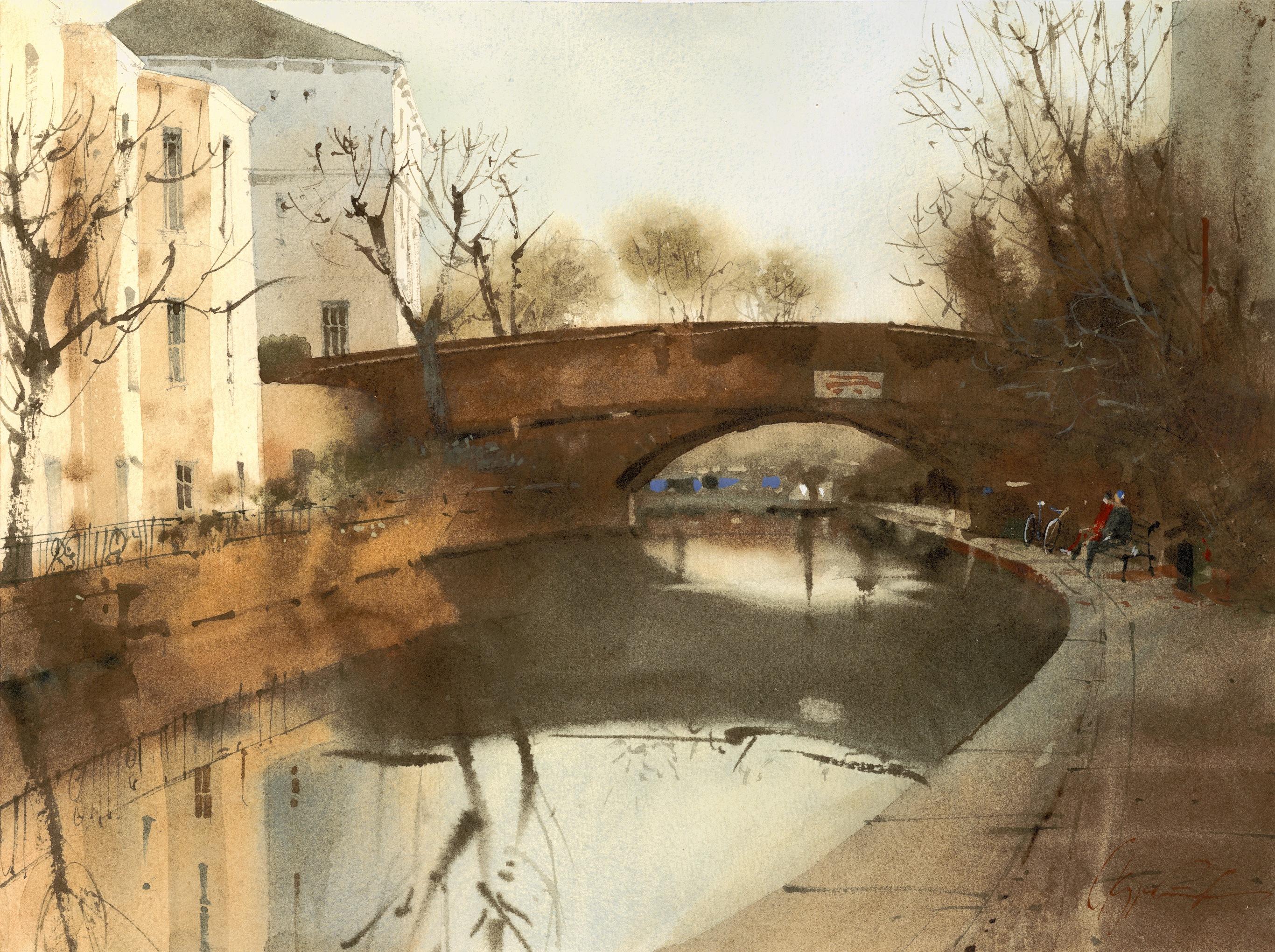 Риджентс канал. Лондон