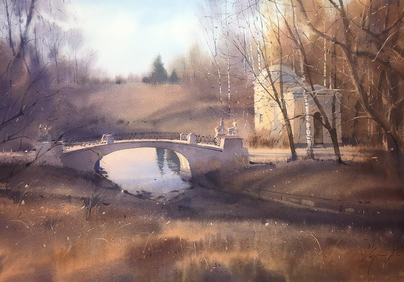 Мост кентавров. ноябрь