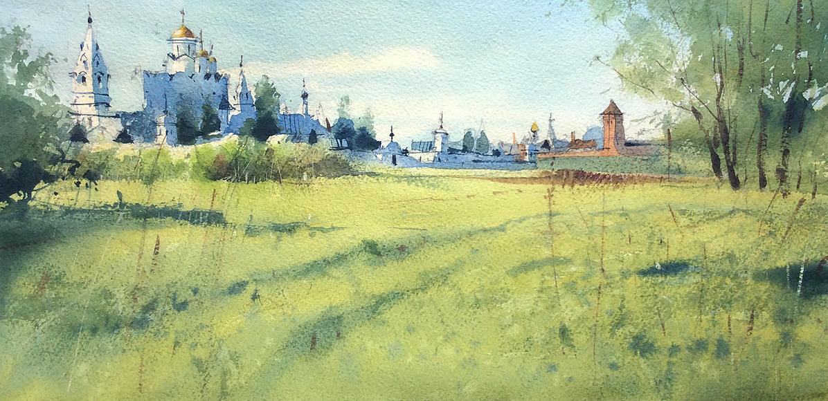 Вид на Спасо-Евфимиев монастырь