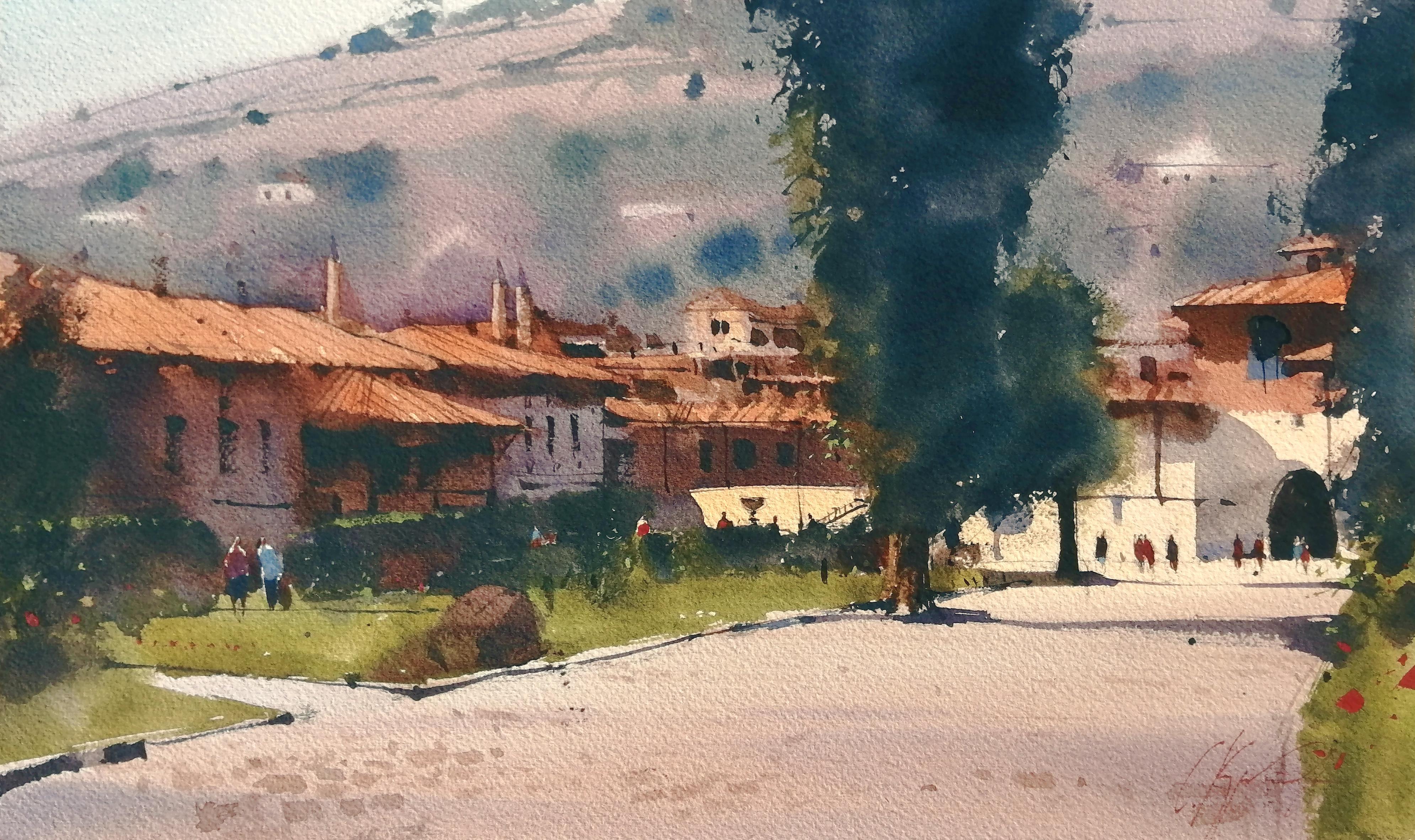 Прогулка по ханскому дворцу