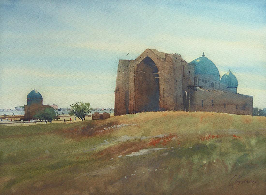 Туркестан, мавзолей Хож-Ахмед Яссауи