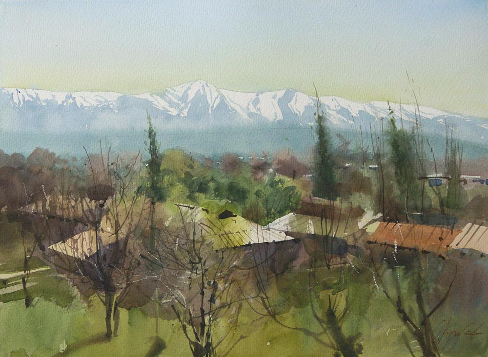 Вид на Каратау 2
