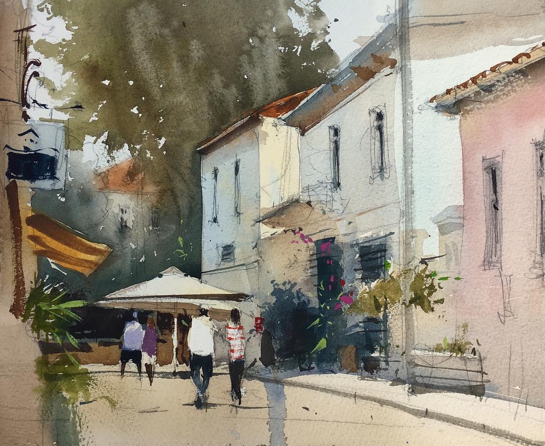 Улочка в Тель-Авиве