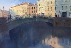 St. Petersburg. Pevchesky bridge