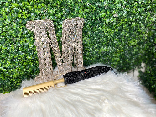 Basic Blinged Hot Combs