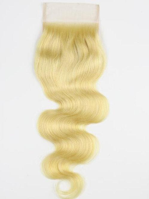 """613 Raw 4x4 Closure 24"""" Body Wave Wig"""