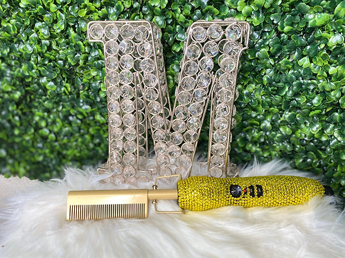 Color Blinged Hot Combs