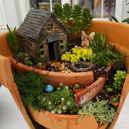How to Make a Fairy Garden Demonstration - Date TBD
