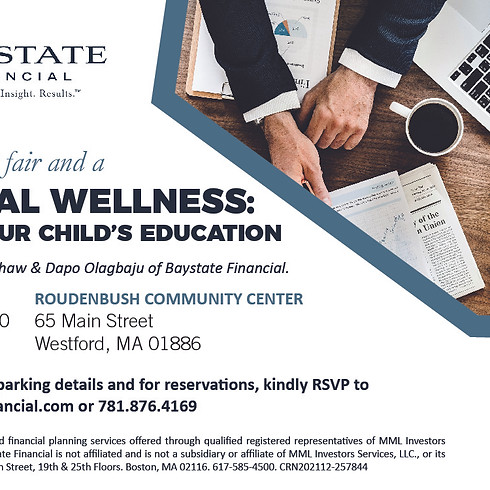 Financial Wellness: Funding Your Child's Education