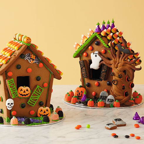 Gingerbread Ghost Houses - Special Event