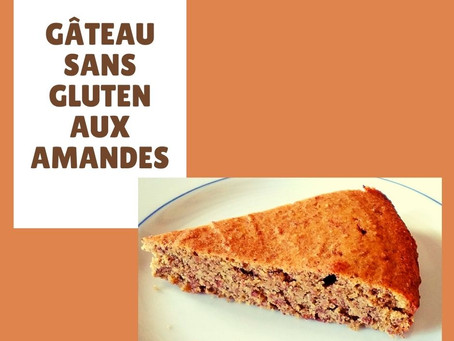 Gâteau sans gluten aux amandes