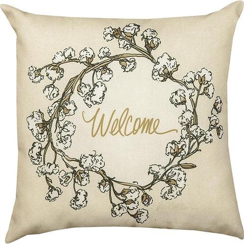 Welcome Indoor/Outdoor Pillow