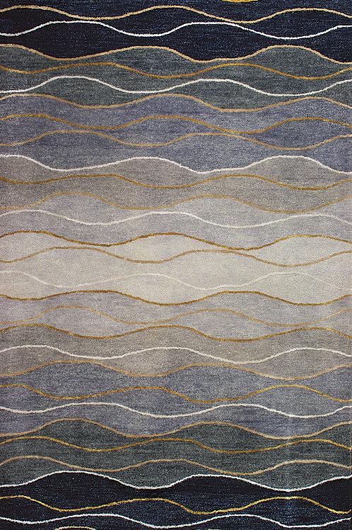 Indigo Wave Area Rug
