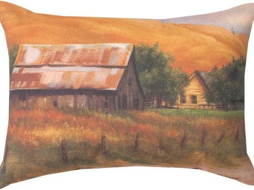 Rusty Barn Pillow