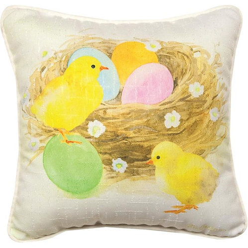 Easter Chicks Pillow