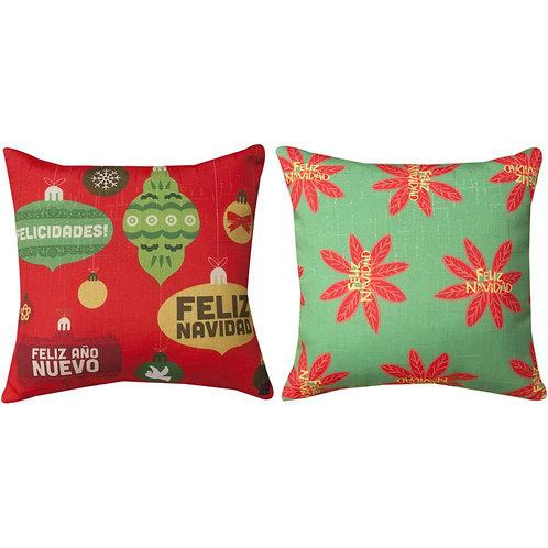 Feliz Navidad Pillow