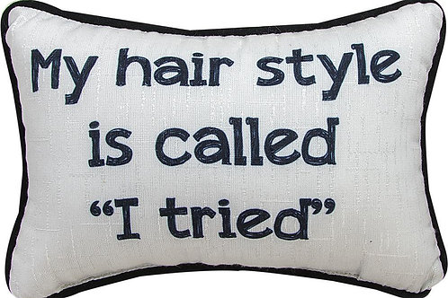 My Hair Style Pillow