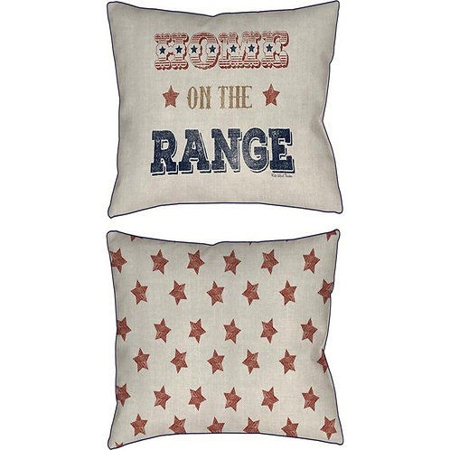 Home On The Range Pillow