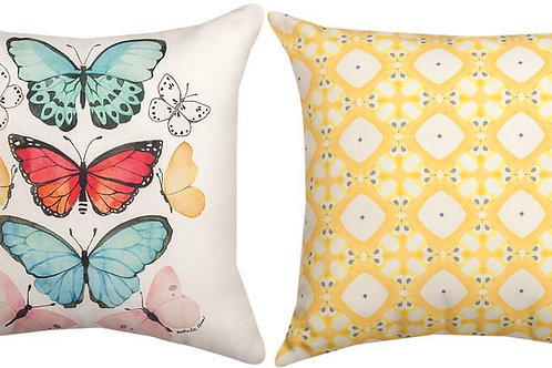 Butterflies Indoor/Outdoor Pillow