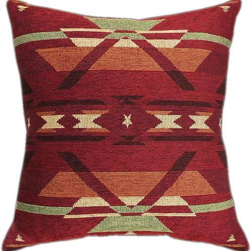 Red Tribal Pillow