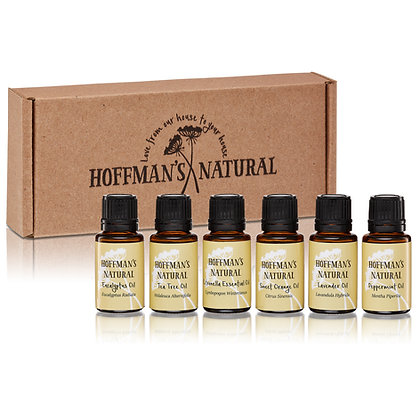 Organic Essential Oil Gift Set