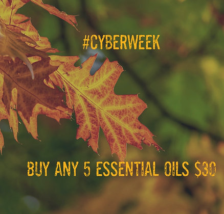 ANY 5 essential oils