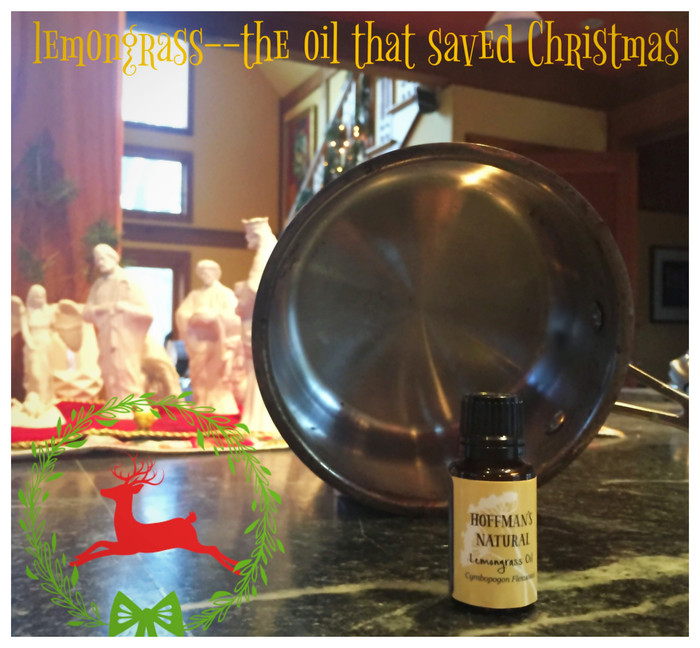 Lemongrass--the oil that saved Christmas