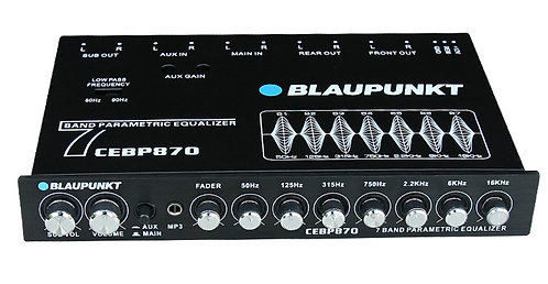 Blaupunkt Compact 7-Band Digital Equalizer
