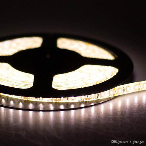 LED Strip, 3528 SMD, 5M, 600LED, Warm White, Waterproof