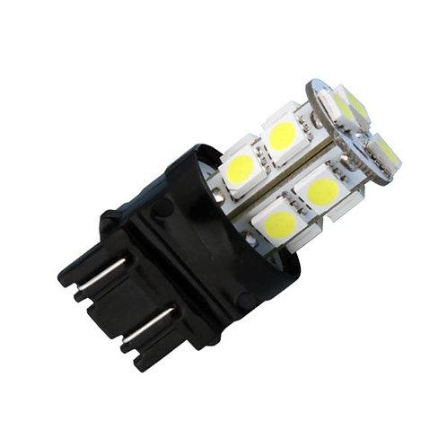 LED Bulb, 3157, 13 LED, White, Pair