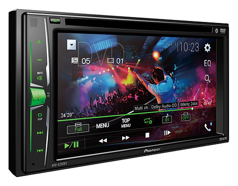 Pioneer AVH-211EX Multimedia Receiver with Bluetooth