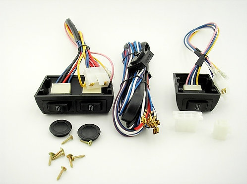 3 SWITCHES kit for power window 2 doors