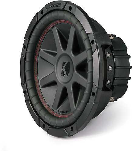 Kicker 750 to 1000Watts 4ohm DVC CVR SUBWOOFER (Options: 10 to 15 in)