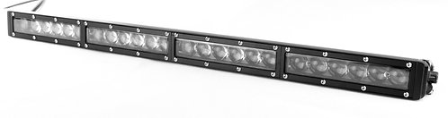 LED Single Row Light High Output Combo 4D  (Options: 294W to 336W; 42 to 50 in)