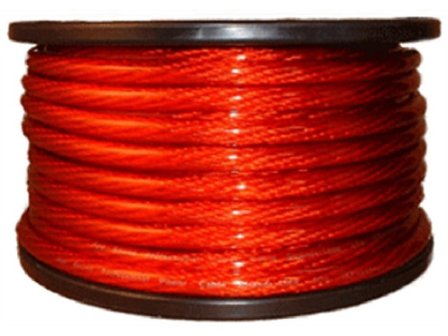 4 Ga 100ft CCA Power Cable (Options: Black & Red)
