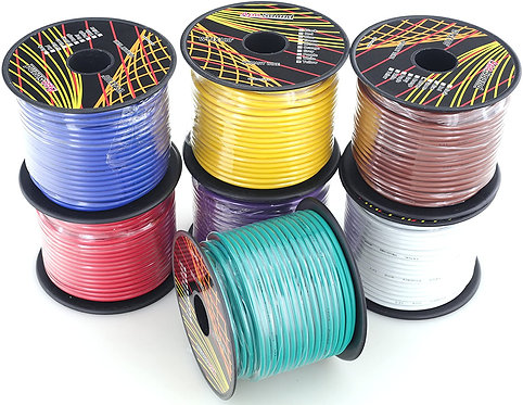 14 Ga 100ft  7 Colors Per Set CCA Wire