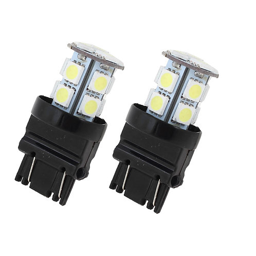 LED Bulb, 3156, 13 LED, White, Pair