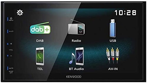Kenwood DMX125BT 6.8 Digital Multimedia Receiver with Bluetooth