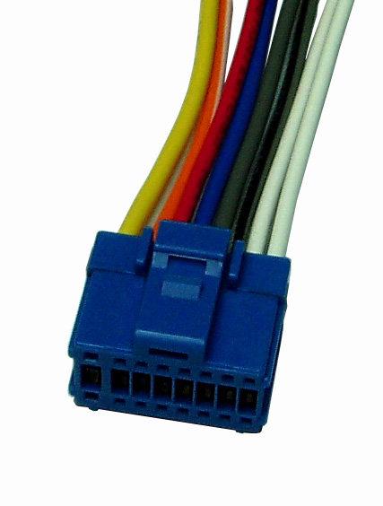 Pioneer16pin plug, Blue