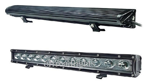 LED Single Row Light (Options: 100W to 240W; 22 to 52 in)