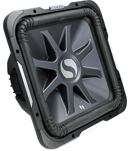 KICKER 2000W MAX 4OHM DVC L7 SUBWOOFER (Options: 10 to 15 in)