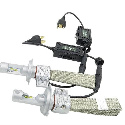 L5S-H4HL, LED Headlight, Phillips, H4, Hi/Lo, DC10-36V, w/o Fan, 4000LM, Per set
