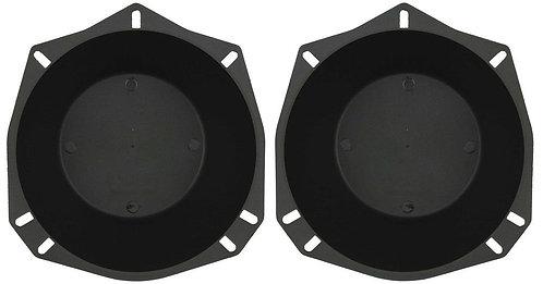 81-4300 Universal Speaker Baffles Use with 5 1/4'' or 6 1/2'' speakers. Pair