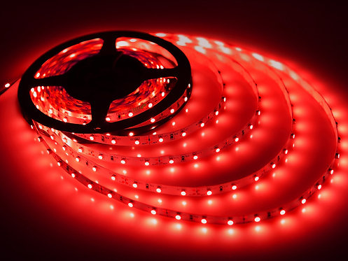 Edge LED Strip, 355 SMD, 5M, 300LED, Red, Waterproof