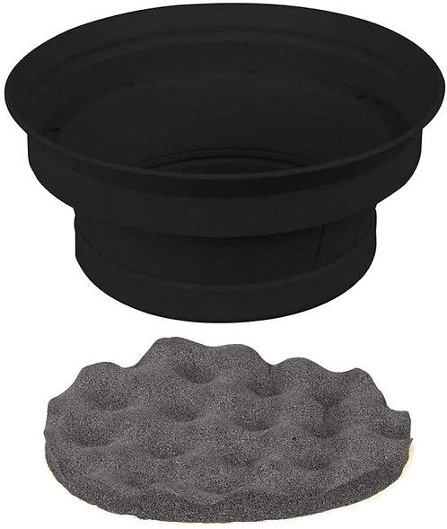 2 Piece Speaker Baffle Kit 6.5 Inch - Pkg/Pair