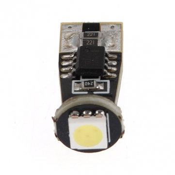 LED CanBus T10, 1 LED, White, Pair