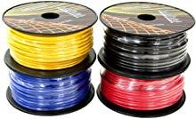 100ft CCA Wire 4 Colors Per Set (Options: 10-18Ga)