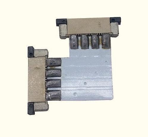 "4 pin or 2 pin/10mm width strips (Options: L""T""X"" Shape)"