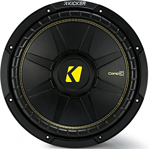 KICKER 500 to 1200 Watts 4ohm DVC WOOFER (Options: 8 to 15in)