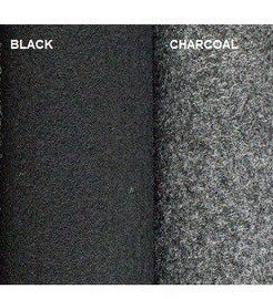 Trunk Liner, 48''X5 Yd, 370g/ M2 (Options: Black & Charcoal; Backed & Unbacked)